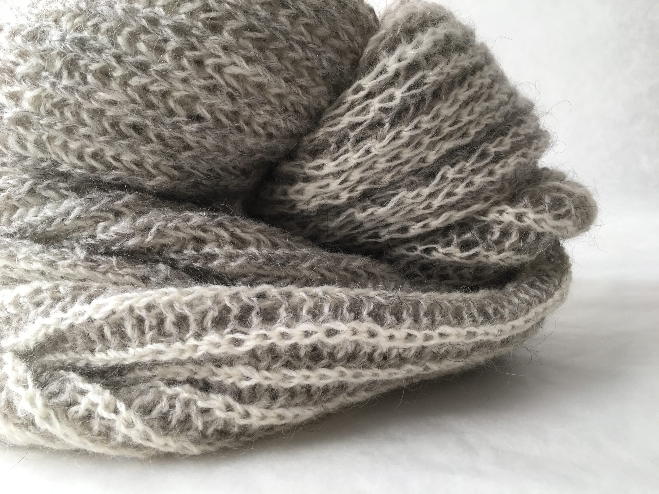 Yarn - Fingering Moco, Grey
